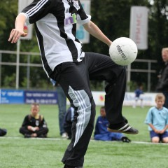 Freestyle voetbal show
